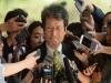 문성근씨 국정원 '문화·연예계 블랙리스트' 관련 참고인 출석