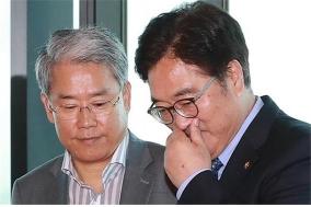 민주-국민, 뒷거래 논란…'고소취하'이어 '선거구제개편'까지