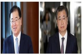 남북 대화 속도내는 靑…대북특사 서훈, 정의용 투톱 평양 간다