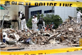 53년 된 용산 건물 '제도 허점'에 무너졌다