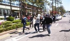 """시민들 분노 """"촬영이 벼슬이냐"""" 아직도 갑질하는 드라마 촬영"""