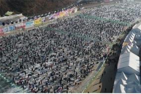 화천산천어축제 연일 흥행몰이 사흘만에 45만명 넘어