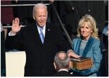조 바이든 46대 미국 대통령 성경에 선서